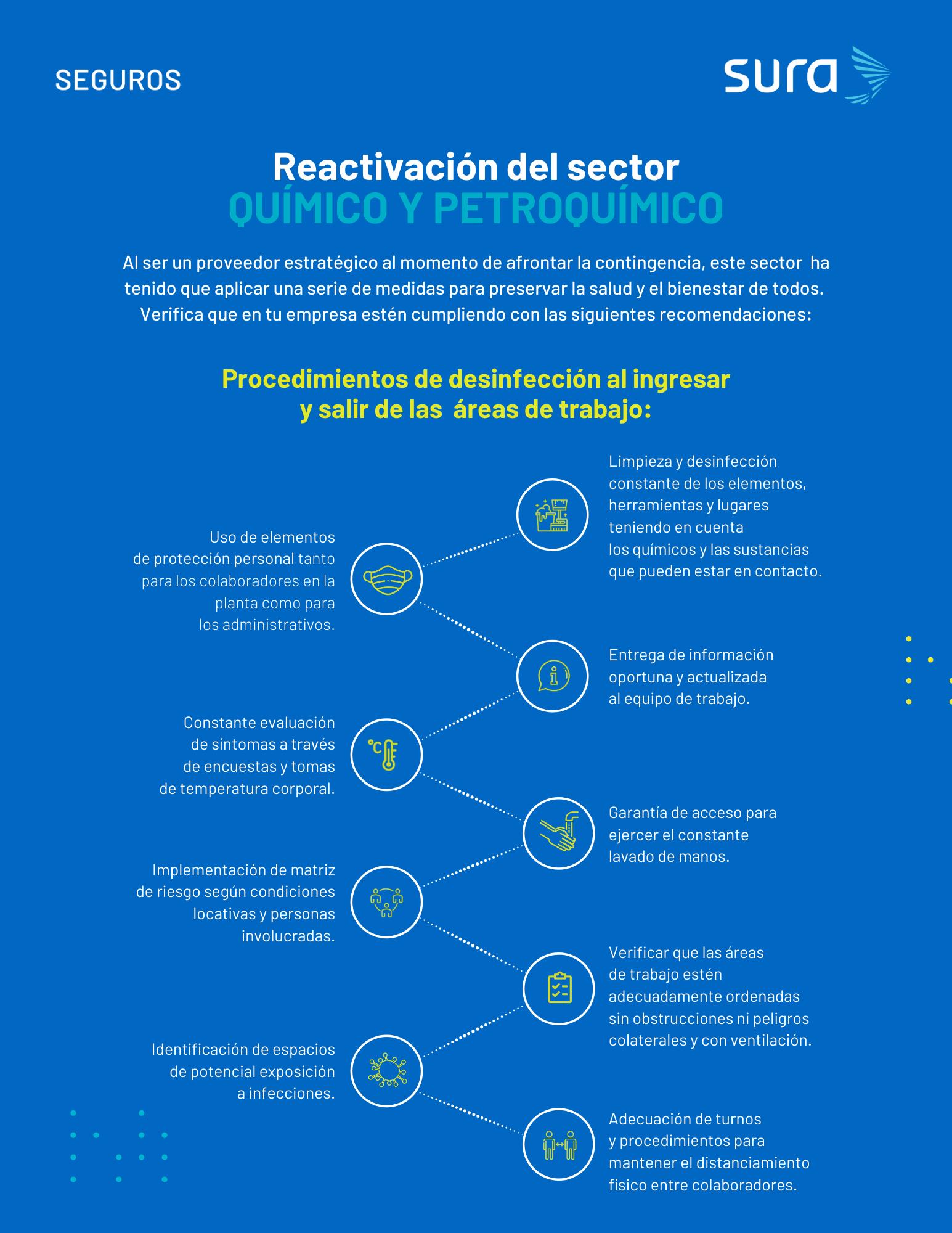 Infografía - sector petroquimicos