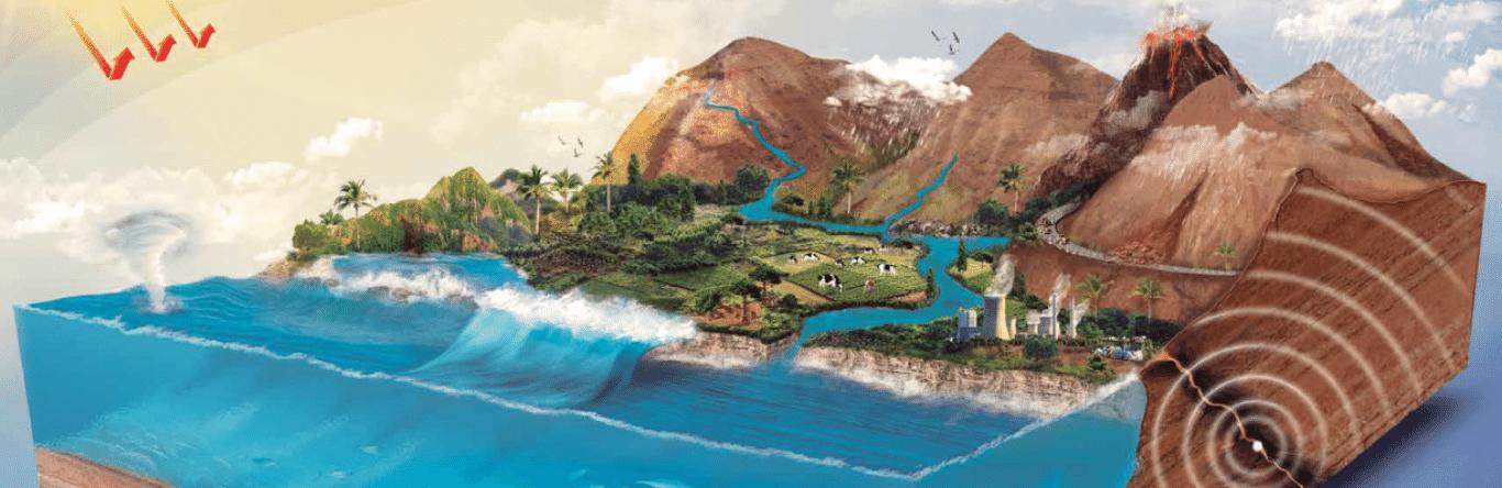 Seguros SURA - Habitat - Geociencias - Imagen principal - La -naturaleza - como - fuente - de - riesgos - y - oportunidades