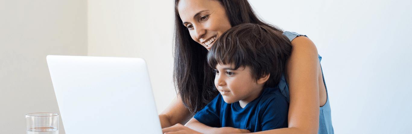 Seguros SURA - Autonomia - Imagen principal - acompañar - hijos - educacion - virtual