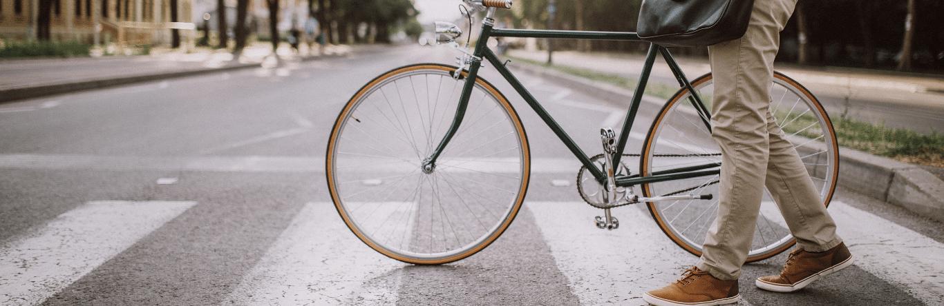 Seguros SURA - Movilidad - Imagen principal - peatón - bici - protagonistas - nueva - movilidad